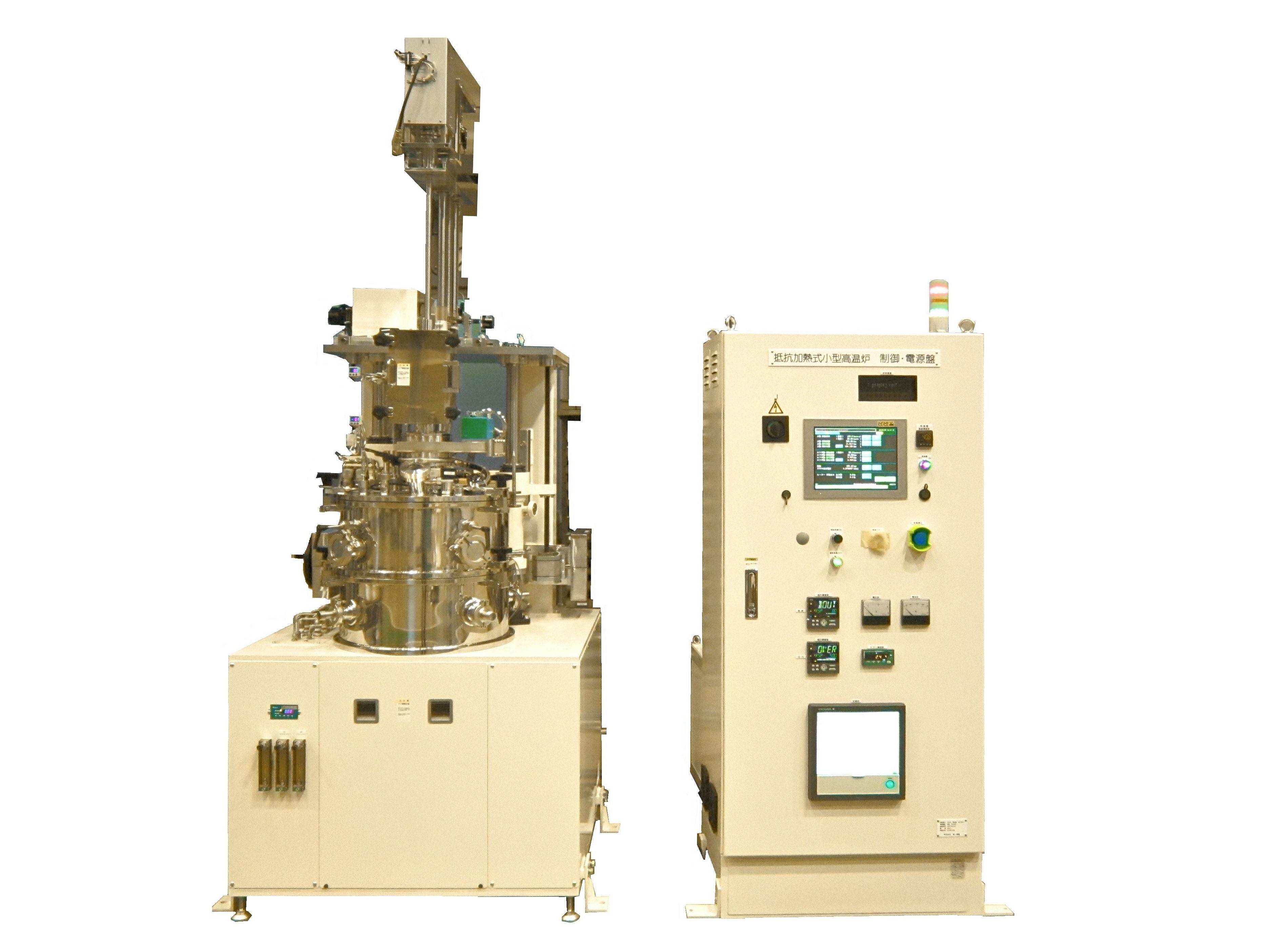 小型チャンバー引上げ装置(CZ炉)